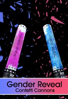 Gender Reveal Cannons