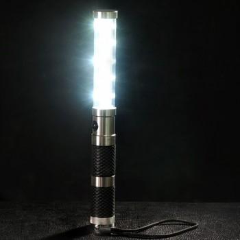 Pack of 10 LED Strobe Batons