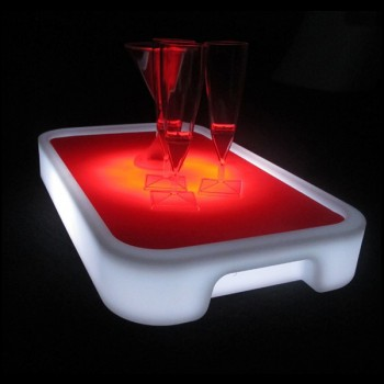 Box of 5 LED Serving Trays (Rectangular)