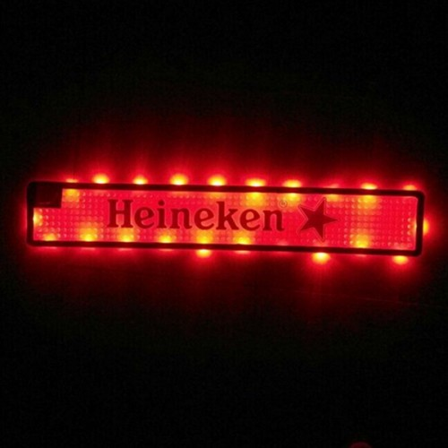 Customised LED Bar Mats