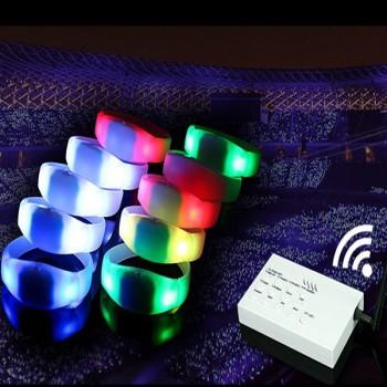 Set of 250 Remote Control LED Bracelets