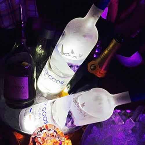 Customised LED Glow Bottle LightPads