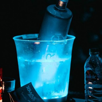 Individual LED Glow Ice Buckets (Battery Operated)
