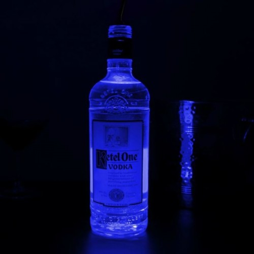 Box of 50 LED Glow Bottle LightPads (Premium)