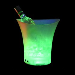 Individual RGB Colour Changing LED Glow Ice Bucket (5L)