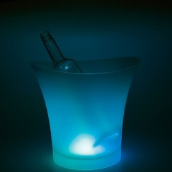 1 Individual RGB Colour ChangingLED Glow Ice Bucket (5L)