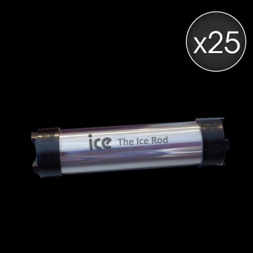 Case of 25 Ice Rods