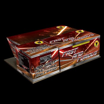 Fast and Furious Compound Cake (210 Shots) Firework
