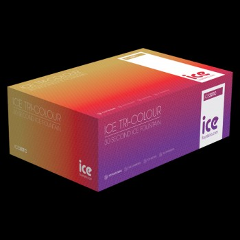 Box of 60  Tri-Coloured Ice Fountains