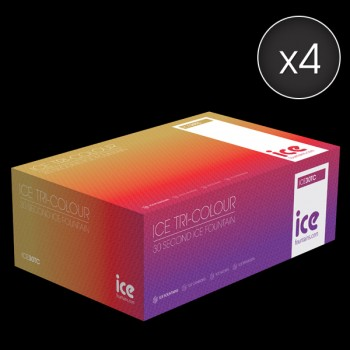 Case of 240  Tri-Coloured  Ice Fountains