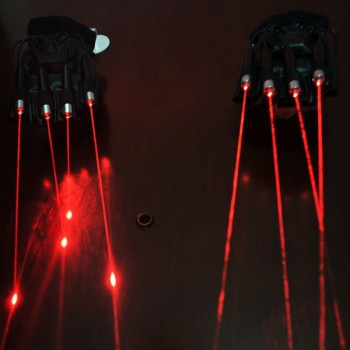 Box of 5 High Powered Laser Gloves