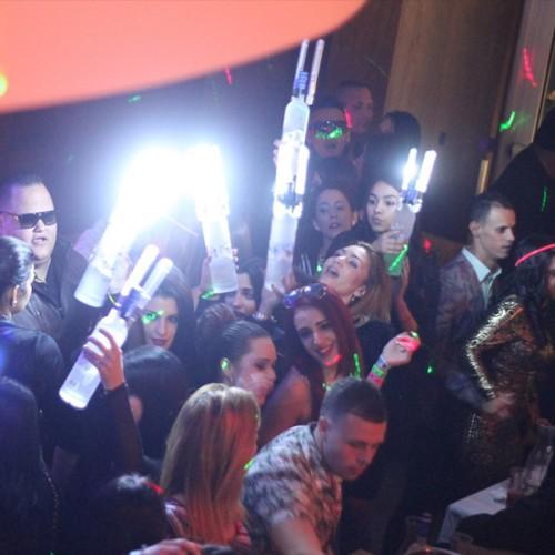 Case of 150 LED Glow NITE SPARX (LED Champagne Sparkler)