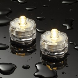 Pack of 12 Submersible LED Tea Lights