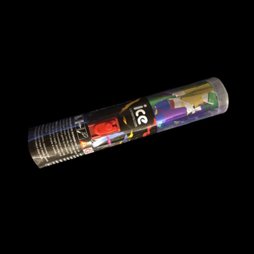 Individual Push-Button Confetti Cannons (Metallic Foil)