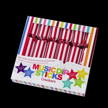 Box of 6 Music Dipstick 10'' Crackers