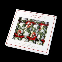 Box of 6 Origami Christmas Crackers
