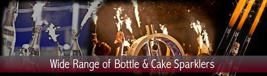 Bottle & Cake Sparklers
