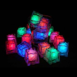 Case 288 Switch Activated LED Glow Ice Cubes
