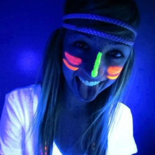 Individual UV Glow Neon Face & Body Paint (10ml)