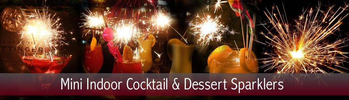 Mini Cocktail and Dessert Sparklers
